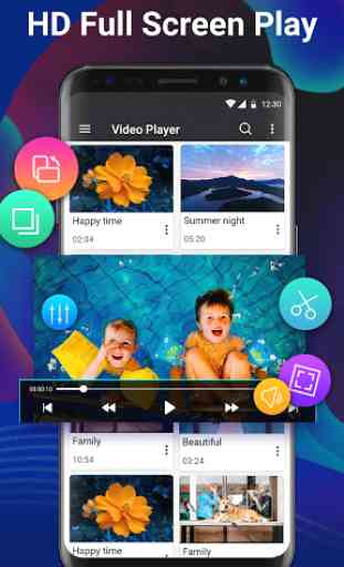 Video Player Pro - Full HD & All Formats& 4K Video 2