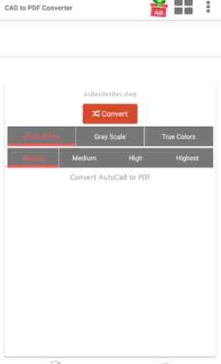 Autocad to PDF Converter 2