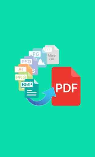 File to PDF Converter(Ai, PSD, EPS, PNG, BMP, Etc) 2