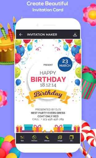 Invitation Maker, Greeting Card Maker image 1