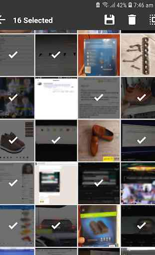 Unseen Gallery -Cached images & thumbnails Manager 4