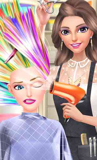 Hair Fashion Summer Girl Salon 1