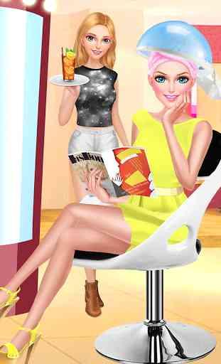 Hair Fashion Summer Girl Salon 3