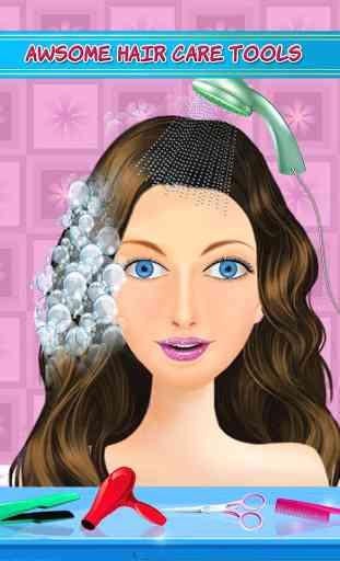 Hair Style Salon-Girls Games 4