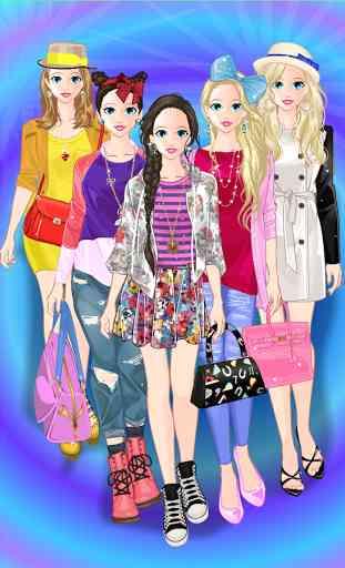 Princess Doll Fashion Dress Up 1
