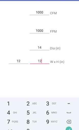 Duct Calculator 2