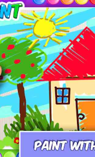 Fingerpaint Magic Draw and Color by Finger 3