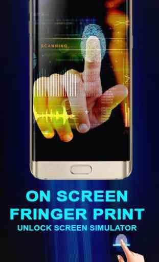 In Display Finger Print Screen Lock Simulator 3