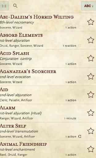 5e spells 1