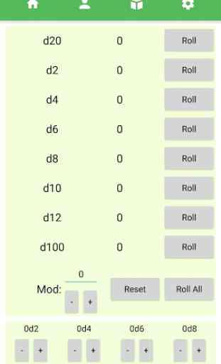 D&D Player Companion - Character Sheet & Dice App 4
