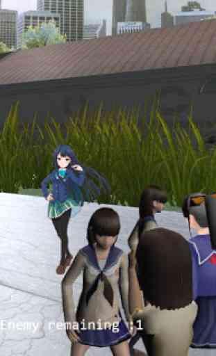 High School Gandere Girl Sim 2 2