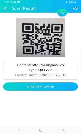 QR Code Reader - Scanner App 2