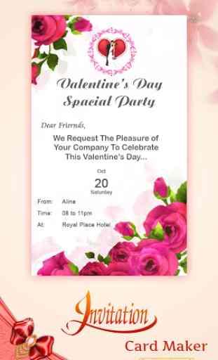 Digital Invitation Card Maker image 1