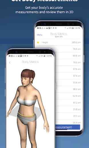 Nettelo - 3D body scanning and analysis 3