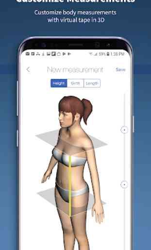 Nettelo - 3D body scanning and analysis 4