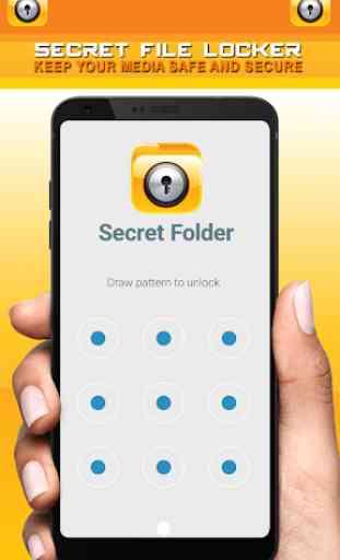 Secret File Locker - Security Lock App 3