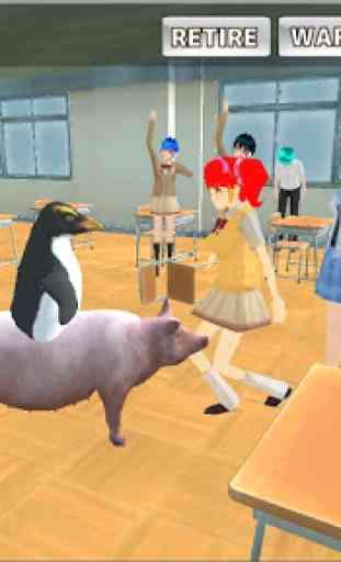 Animal School Simulator. girls and animal life 3