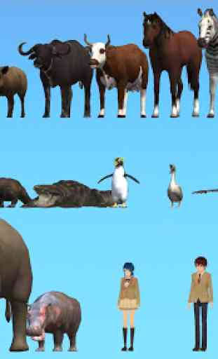 Animal School Simulator. girls and animal life 4