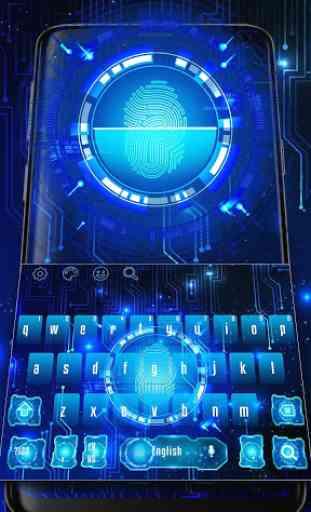Finger Print Sensor Keyboard 1