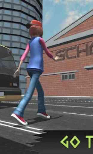 High School Girl Simulator: Love Story Games 2020 4