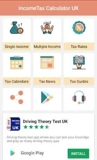 HMRC Tax Calculator for UK 1