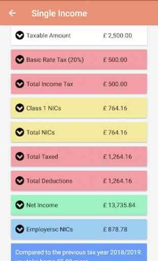 HMRC Tax Calculator for UK 3