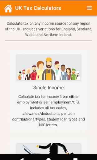 UK Tax Calculators 1