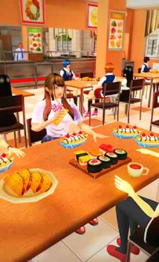 Virtual High School Girl Simulator Real Family 1