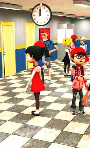 Virtual High School Simulator - School Games 3D 1