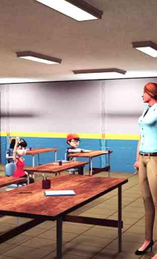 Virtual High School Simulator - School Games 3D 2