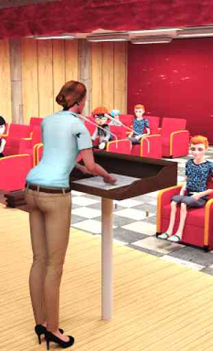 Virtual High School Simulator - School Games 3D 3