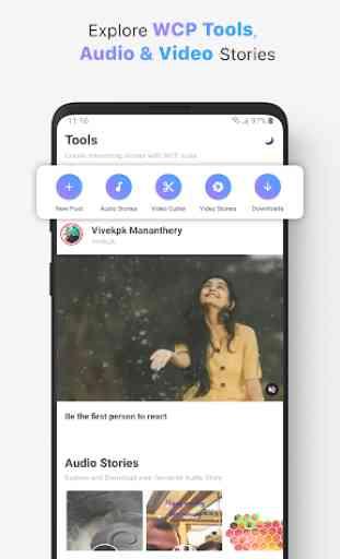 WhatsCut Pro - Audio Status Maker | Video Cutter 2