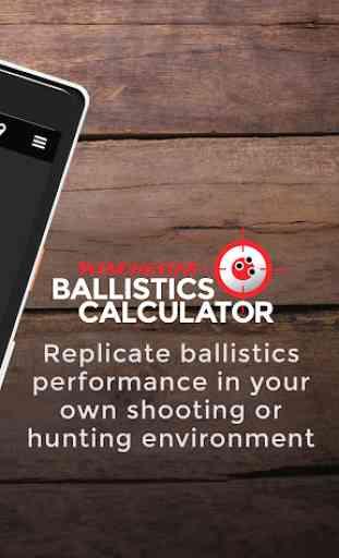 Winchester Ballistics Calculator 2