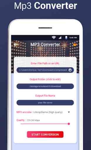 MP3 Converter - Free Mp3 Video Converter 4
