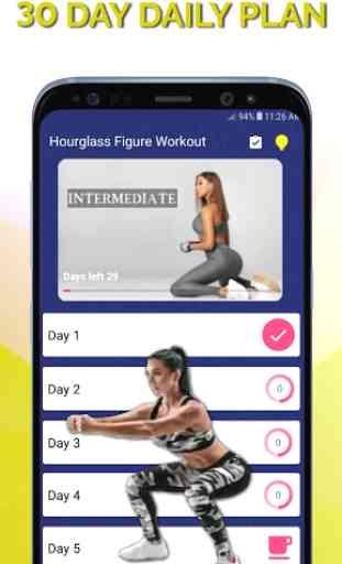 Hourglass Figure Workout - Small Waist Bubble Butt 2