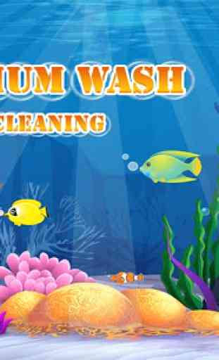 Fish Aquarium Wash: Pet Care & Home Cleaning Game 4