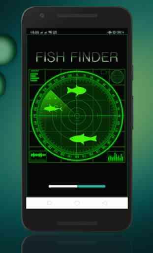 Fish Finder – Advanced Fish Sonar Free : Simulator 1