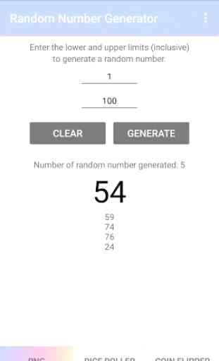 Random Number Generator 4