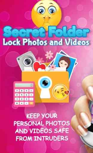 Secret Folder Lock Photos and Videos 1