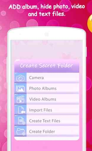 Secret Folder Lock Photos and Videos 3