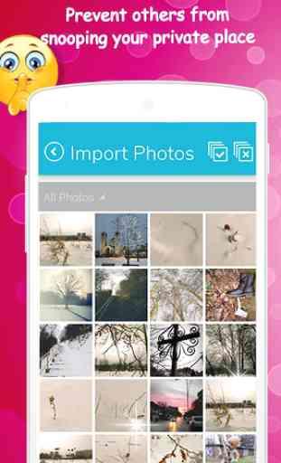 Secret Folder Lock Photos and Videos 4