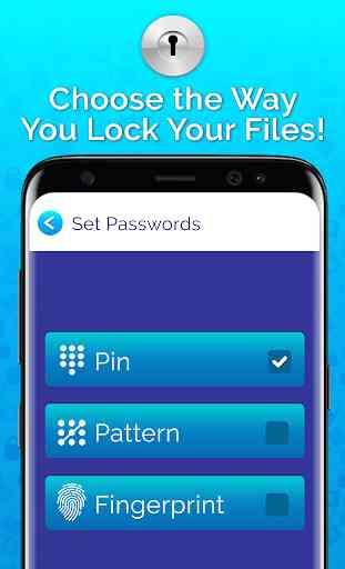 Top Secret Folder Lock – Best File Locker & Hider 4