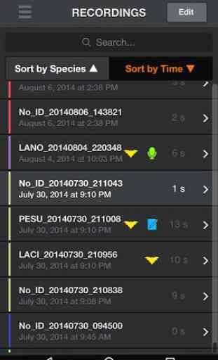 Echo Meter Touch Bat Detector, Recorder & Analyzer 4