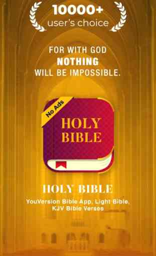 YouVersion Bible App, Light Bible,KJV Bible Verses 1