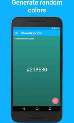 Simple Randomizer - Random numbers, lists & colors 4