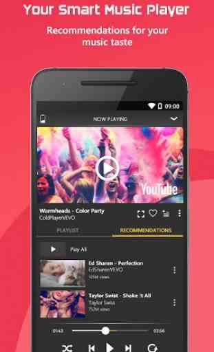 Free Music : YouTube Stream Player 4