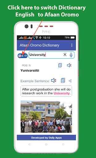 Afaan Oromo Dictionary Offline 1