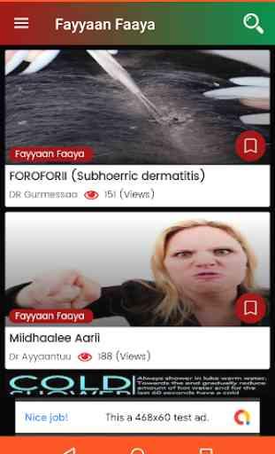 Fayyaan Faaya - Oromo Health Tips 1