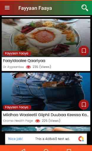 Fayyaan Faaya - Oromo Health Tips 2