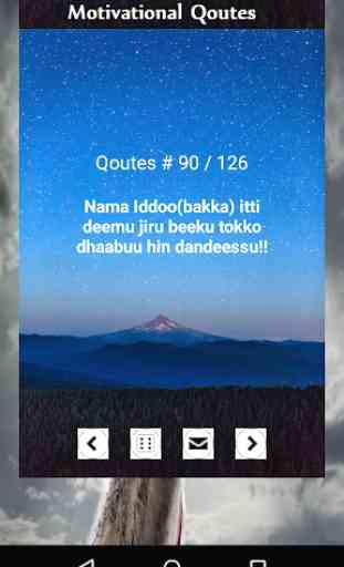 Iccitii milkaa'inaa - Oromo Motivational Qoutes 2